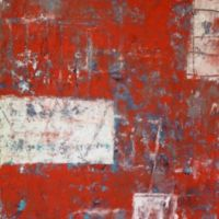 Urban patina (#27) 2015 Acrylic mixed media on canvas 76x61x4cms