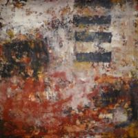 Urban Patina (#29) 2015 Acrylic mixed media on canvas 107x107x4cms